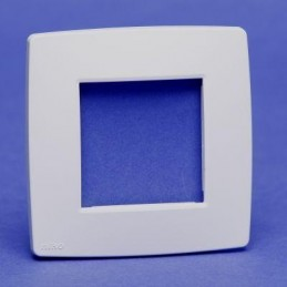 plaque simple blanc