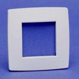 plaque simple blanc